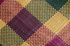 Estera multicolora imagen de archivo libre de regalías