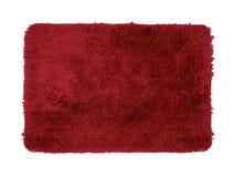 Estera roja Imagen de archivo libre de regalías