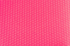 Estera rosada de la yoga Fotos de archivo libres de regalías
