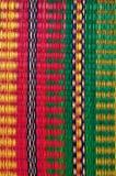 Estera tejida de hojas de palma Imagen de archivo libre de regalías