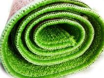 Estera verde Foto de archivo