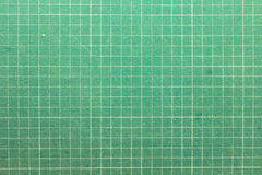 Estera verde del corte Fotografía de archivo