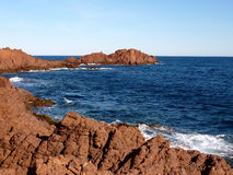 Esterel massif, France Stock Images