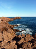 Esterel massif, France Royalty Free Stock Photos