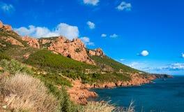 Esterel mountain, France Royalty Free Stock Image