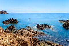 Esterel rock coast. Cote Azur, Provence, France. Stock Image