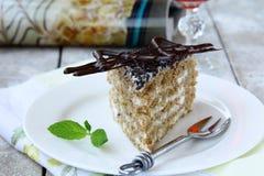 Esterhazy cake stock images