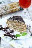 Esterhazy cake Royalty Free Stock Images