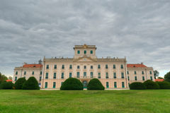 The Esterhazy Castle in Fertod, Hungary Royalty Free Stock Images