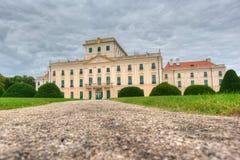 The Esterhazy Castle in Fertod, Hungary Royalty Free Stock Photography