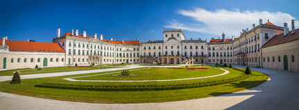 The Esterhazy Castle in Fertod, Hungary Royalty Free Stock Photo