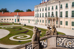 The Esterhazy Castle in Fertod, Hungary Stock Images
