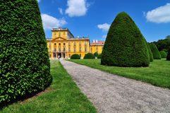 Esterhazy castle - park Royalty Free Stock Image