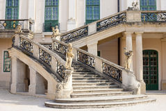 Esterhazy Castle -Stairs to the palace Royalty Free Stock Photos