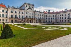 Esterhazy Palace entrance . Stock Image