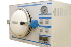 Esterilizador médico del vapor Foto de archivo libre de regalías