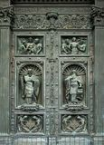 Esterior doors of St Isaac`s Cathedral Russia Stock Photo