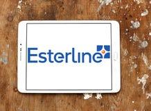 Esterline Teknologier Korporation logo arkivbild