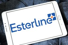 Esterline Teknologier Korporation logo royaltyfria foton