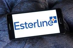 Esterline Teknologier Korporation logo arkivfoto