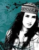 Estern girl Stock Image