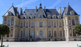 Esterni del castello di Sceaux, Sceaux, Francia Immagine Stock