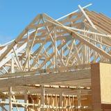 Esterno d'inquadramento della Camera di costruzione Fotografia Stock