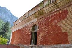 Esterno del bagno imperiale austriaco in Baile Herculane, Romania Fotografie Stock