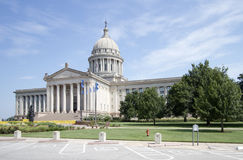 Esterno del capitol U.S.A. dello stato di Oklahoma immagini stock libere da diritti