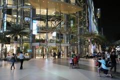 Esterno del centro commerciale Fotografie Stock Libere da Diritti