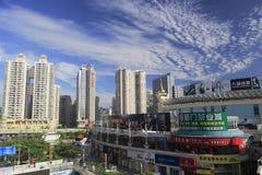 Esterno del centro commerciale di Mingfa fotografia stock