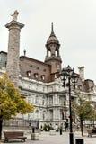 Esterno del comune di Montreal in Quebec, Canada immagine stock