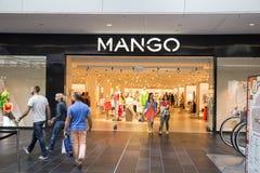 Esterno del deposito del MANGO Fotografie Stock Libere da Diritti