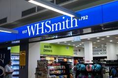 Esterno del negozio di libri di WHSmith immagine stock libera da diritti