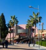 Esterno del teatro municipale di Martos fotografia stock libera da diritti