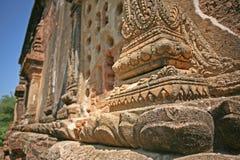 Esterno del tempio di Bagan fotografia stock libera da diritti