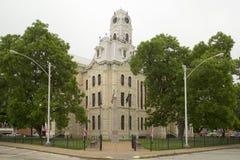 Esterno del tribunale della contea di Hill del monumento storico immagini stock libere da diritti