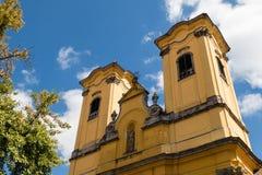 Esterno dell'alta chiesa Fotografia Stock Libera da Diritti