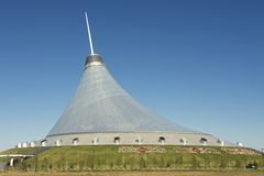 Esterno dell'edificio di Khan Shatyr a Astana, il Kazakistan Fotografie Stock
