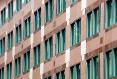 Esterno dell'edificio per uffici Fotografia Stock Libera da Diritti