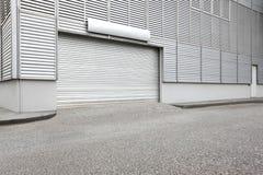 Esterno dell'unità industriale del magazzino Fotografia Stock