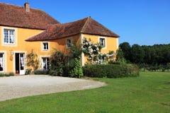Esterno della casa francese Fotografie Stock