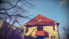 Esterno della casa moderna Fotografia Stock