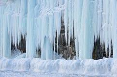 Esterno della caverna di ghiaccio Immagine Stock