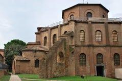 Esterno della chiesa della basilica della st Vitale Immagine Stock