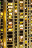 Esterno della costruzione di appartamento Fotografie Stock Libere da Diritti