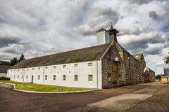 Esterno della distilleria di Dallas Dhu fotografie stock libere da diritti