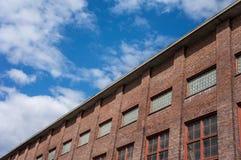Esterno della fabbrica fotografia stock