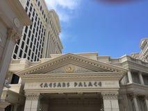 Esterno della località di soggiorno e del casinò di Caesar's Palace Immagini Stock Libere da Diritti