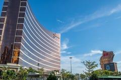 Esterno della località di soggiorno di Wynn Macau immagine stock libera da diritti